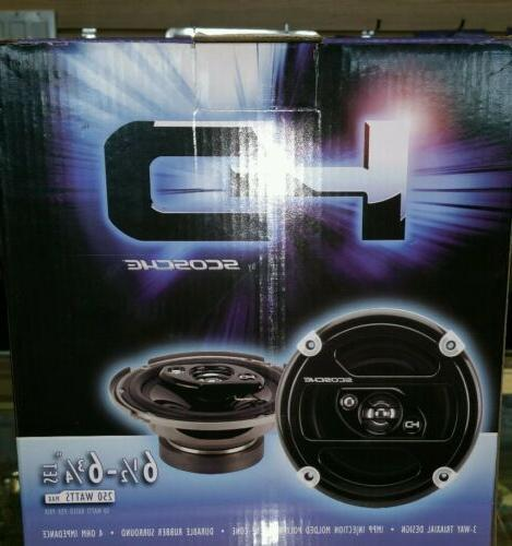 hd57683 3 way 5 car speakers system