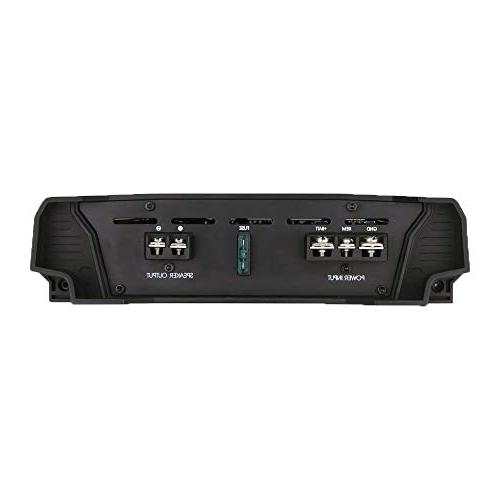 Lanzar Amplifier 1 2,000 Watt, 2 Ohm, RCA Bass Boost, Mobile Audio, Amplifier Car Speakers, Crossover Network