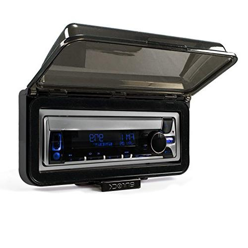 Kenwood In-Dash Marine Audio Bluetooth Cover Bundle Enrock USB/AUX To Interface Radio