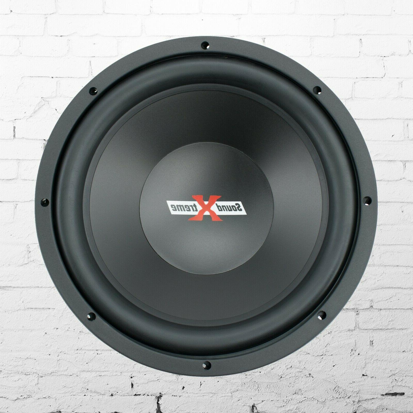 New SoundXtreme 12 2000 Car Subwoofer with DVC - 1