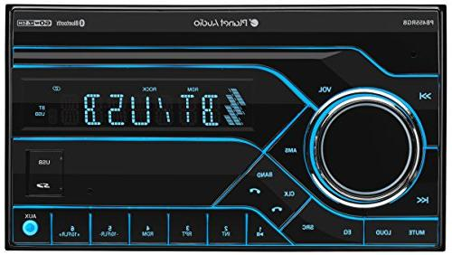 Planet Stereo Double Din, Bluetooth, Multi RGB Wireless