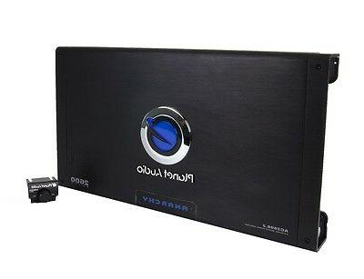 NEW PLANET 2600W 2-Channel Amp