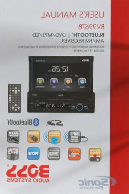 Alpine CDE 163BT Advanced Bluetooth CD Receiver