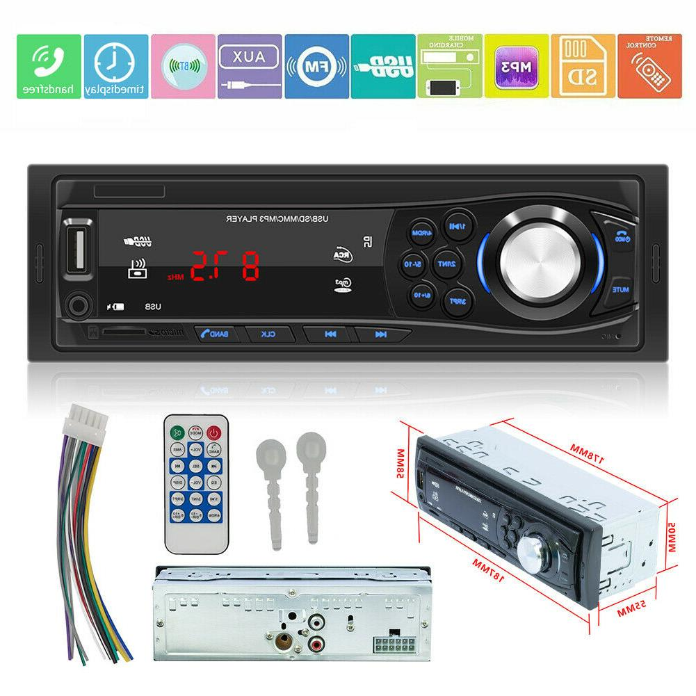 SWM-1028 1 DIN Car Stereo MP3 Player Radio AUX TF Card U Dis