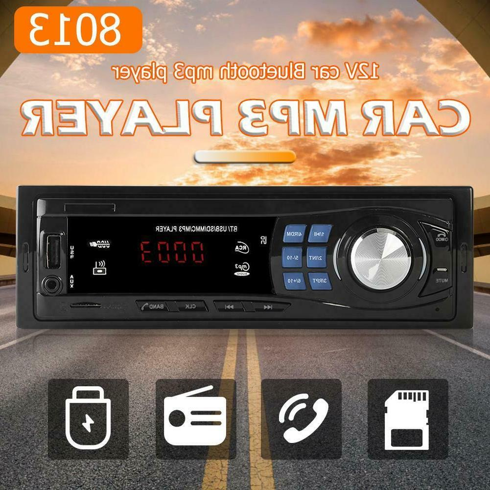 SWM 8013 Single DIN Car Stereo MP3 Player Head Unit Blueto