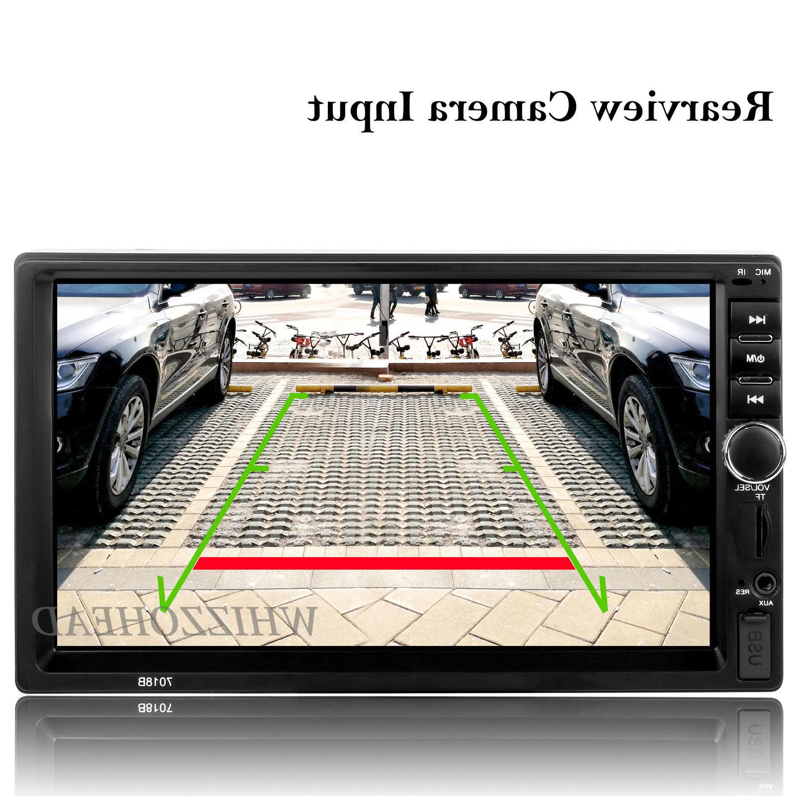 Bluetooth Radio 7'' MP5 Screen + Free Rear