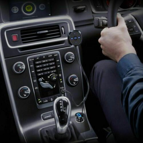 Car Adapter AUX Speaker Hands-Free