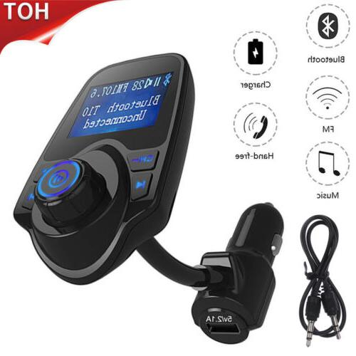 Wireless Car Audio Adapter Charger
