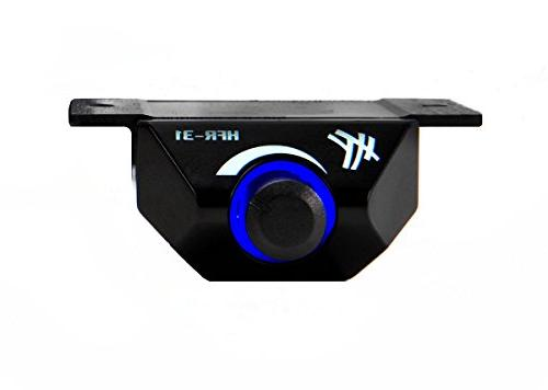 Hifonics Zeuz Car Audio 1300 RMS Mono with Blue 1 Stable Class D Subwoofer Amplifier with Bass Boost Control