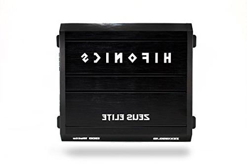Hifonics Car Audio RMS with 1 Stable Class D with Remote Control