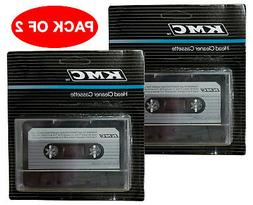 LOT OF 2 NEW AUDIO TAPE DRY HEAD CLEANER KIT DECK HOME CAR C