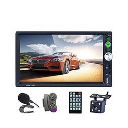 LSLYA Bluetooth Car Stereo 7 inch HD Touch Capacitive screen