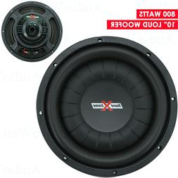 "NEW SoundXtreme 10"" 800W  Slim/Shallow Mount Car Audio Subwo"