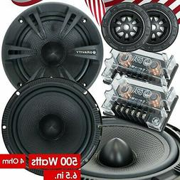 New Gravity 600C 6.5-Inch 2-Way Car Audio Component Speakers