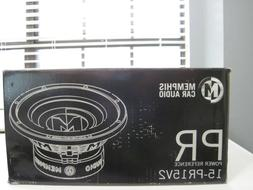"""NEW IN BOX Memphis Power Reference 15"""" SVC 4 ohm Subwoofer 1"""