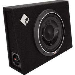 Rockford Fosgate P3S-1X10 P3 Shallow Punch Single 10-Inch Lo