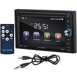 Planet Audio P650MB Double Din, Touchscreen, Bluetooth, MP3/