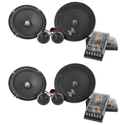 "Pairs Precision Power SC.65 6.5"" 350 Watt 2-Way Car Audio C"