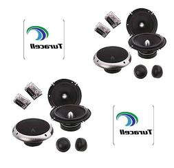 """SOUNDSTREAM PF.6 CAR 6.5"""" 100W RMS COMPONENT SPEAKERS TWEETE"""