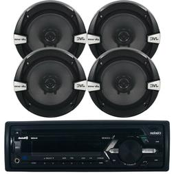 Pioneer In Dash USB CD Bluetooth iPod Radio, 2 Black JVC 6.5