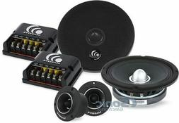 "MASSIVE AUDIO PK6S 6.5"" SHALLOW COMPONENT SYSTEM WITH 3"" TWE"