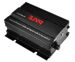 PYLE PLMPA35 2 Channel 300 Watt Mini Amplifier with 3.5mm In