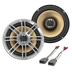 "New Polk Audio DB651 6.5"" 2- Way Marine Certified Coaxial Ca"