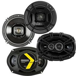 "Polk Audio 6.5"" 300W Marine Speakers + Kicker D-Series 6x9"""