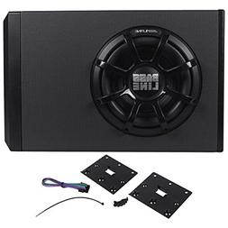 Alpine 250W Powered Sub Enclosure with 10 Inch Bassline Subw