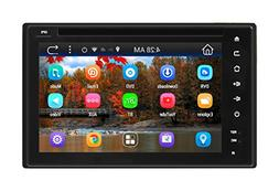 Pyle PLDNAND621 GPS Android Car Stereo WIFI Double Din DVD N