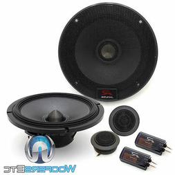 "ALPINE R-S65C 6.5"" 300W LOUD CAR COMPONENT SPEAKERS CROSSOVE"