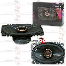 """NEW INFINITY REFERENCE REF-6422cfx 4"""" x 6"""" CAR AUDIO 2-WAY S"""