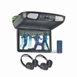 """Planet Audio Roof Overhead 12.1"""" LCD Monitor Car Media SD US"""