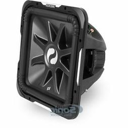 Kicker S15L7 D2 Car Audio Square 15 inch Subwoofer L7 Dual 2