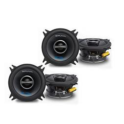 "Alpine SPS-410 4"" Coaxial 2-Way Speaker Set Bundle"