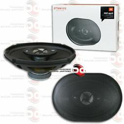 JBL STAGE 6 x 9 INCH 3-WAY CAR AUDIO COAXIAL SPEAKERS PAIR S