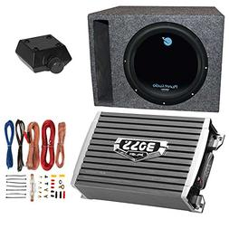 Planet Audio 1800W Subwoofer + Boss 1500W Amplifier w Amp Ki