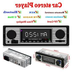 SWM 5513 LCD Car Stereo MP3 Player FM Radio Bluetooth 4.0 US