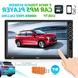 "SWM N6 2 DIN Car Stereo MP5 Player 7"" Bluetooth FM Radio USB"