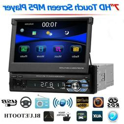 SWM 7'' Single 1Din Car HD Stereo MP5 DVR Player RDS AM FM R