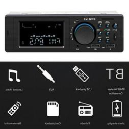 SWM M2 Bluetooth Car Stereo Car Audio FM Radio 60W Output MP