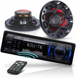 BOSS Audio Systems CH616 Car Stereo & Speakers Package