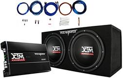 "MTX TNP212D2 12"" 1200W Dual Loaded Car Subwoofer Audio Sub+B"