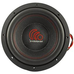 Massive Audio TOROX104-10 Inch Car Audio 2000 Watt TOROX Ser