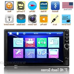 Bluetooth FM Player Stereo Radio Car 7'' HD MP5 Touch Screen
