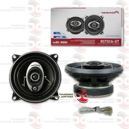 """PIONEER TS-A1072R 4"""" 3-WAY CAR AUDIO COAXIAL SPEAKERS"""