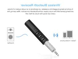 Wireless Bluetooth 4.2 3.5mm AUX Audio Stereo Music Home Car
