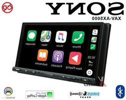 "SONY XAV-AX5000 7"" MEDIA RECEIVER APPLE CARPLAY/ANDROID AUTO"